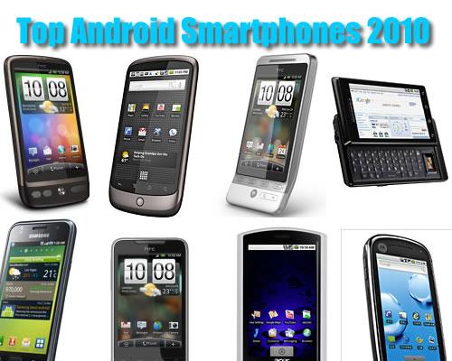 Top Smartphones of 2010