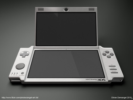 Nintendo 3DS with Switchable Graphics
