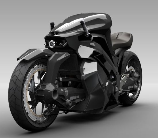 Ostoure the Super Naked Bike Concept