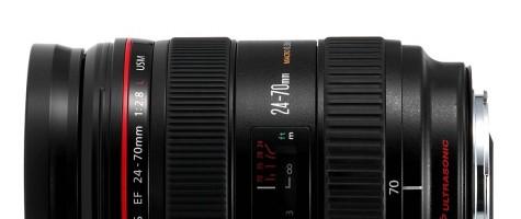 Canon EF Lens 24-70mm F2.8L II