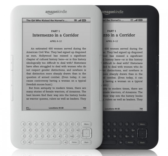 Kindle ebooks overtakes print book sales in the US
