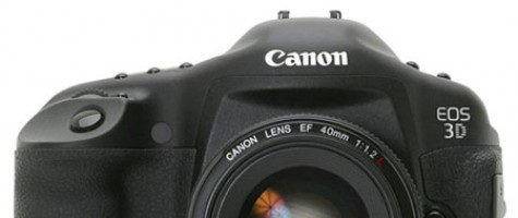 Canon EOS 3D to be dropped early 2012