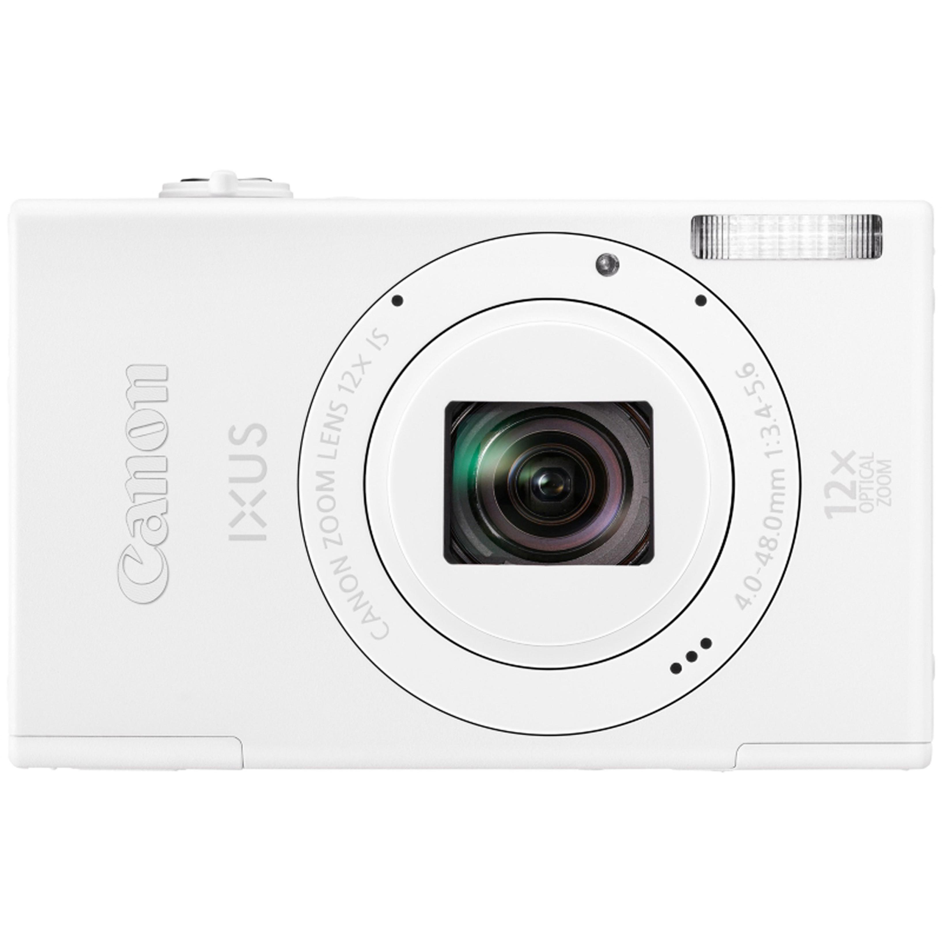 Canon IXUS 510 HS Camera, White