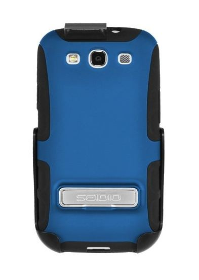 Seidio ACTIVE Case with Metal Kickstand and Holster Combo for Samsung Galaxy S III
