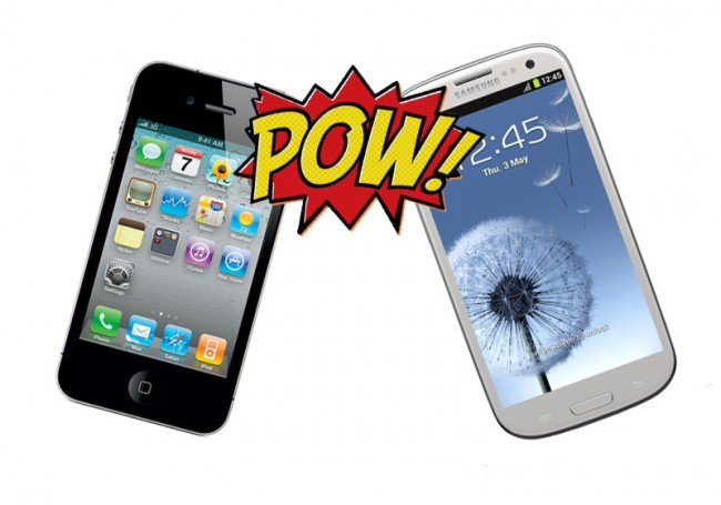 iPhone vs Galaxy S 3
