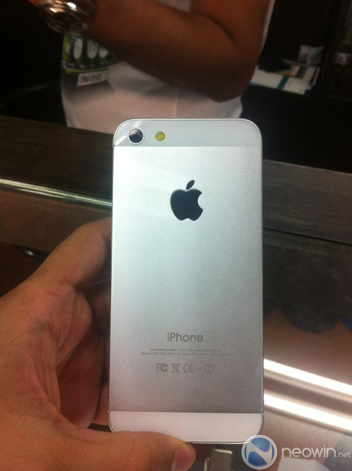 New iPhone 5 prototype now surfaces in Bangkok