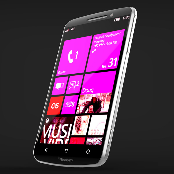 Windows Phone 8 Powered BlackBerry