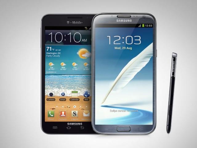 Samsung Galaxy Note II vs Galaxy Note Specs