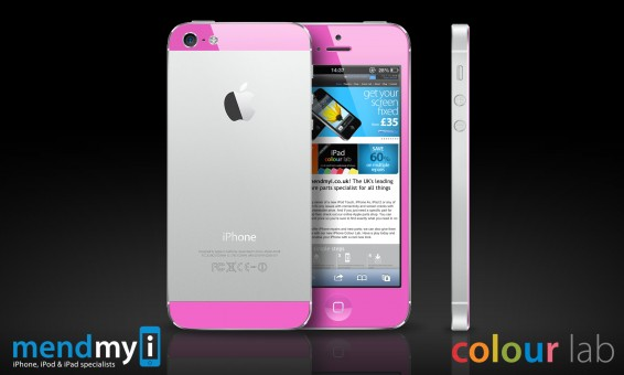 Pink iPhone 5