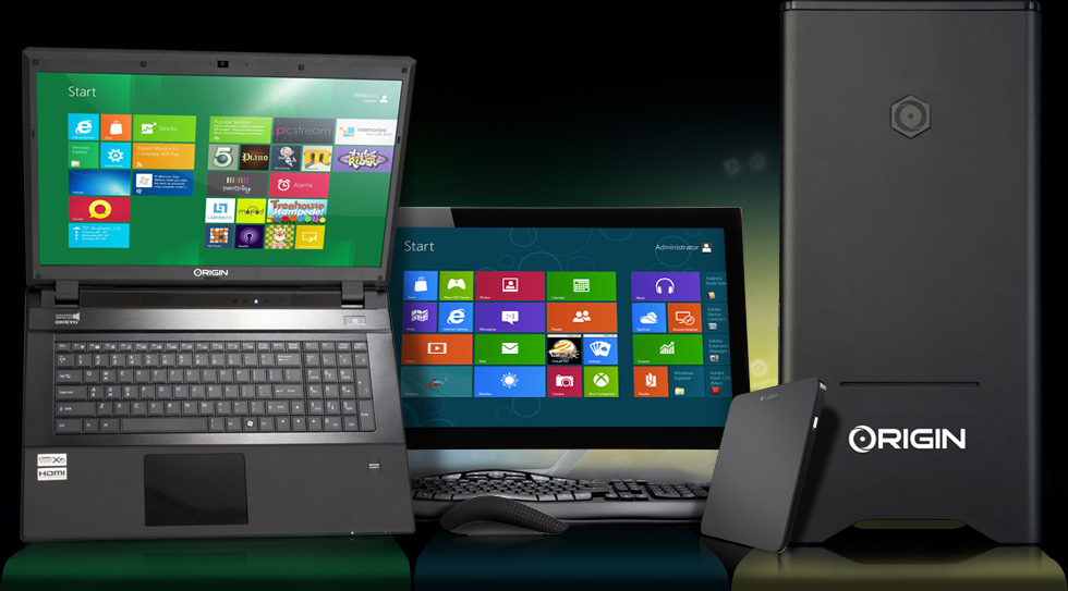 Windows 8 Origin PC