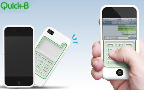 iPhone Case Turns Touchscreen Into Old School Keypad