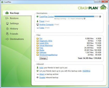 crashplan-backup-crashplan-central