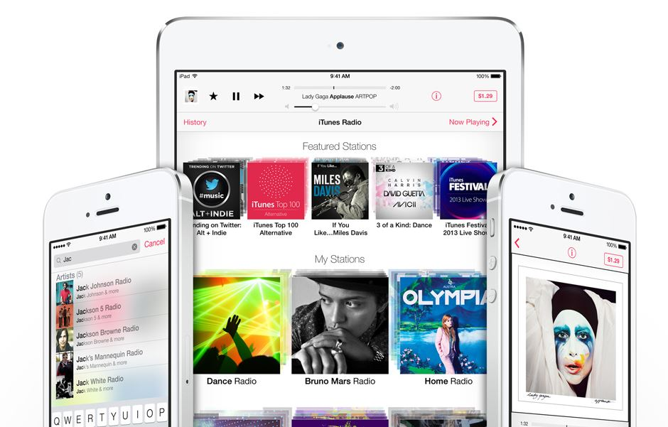 iTunes Radio Streaming