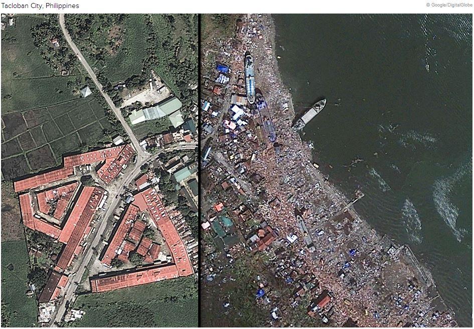 Tacloban City Devastation