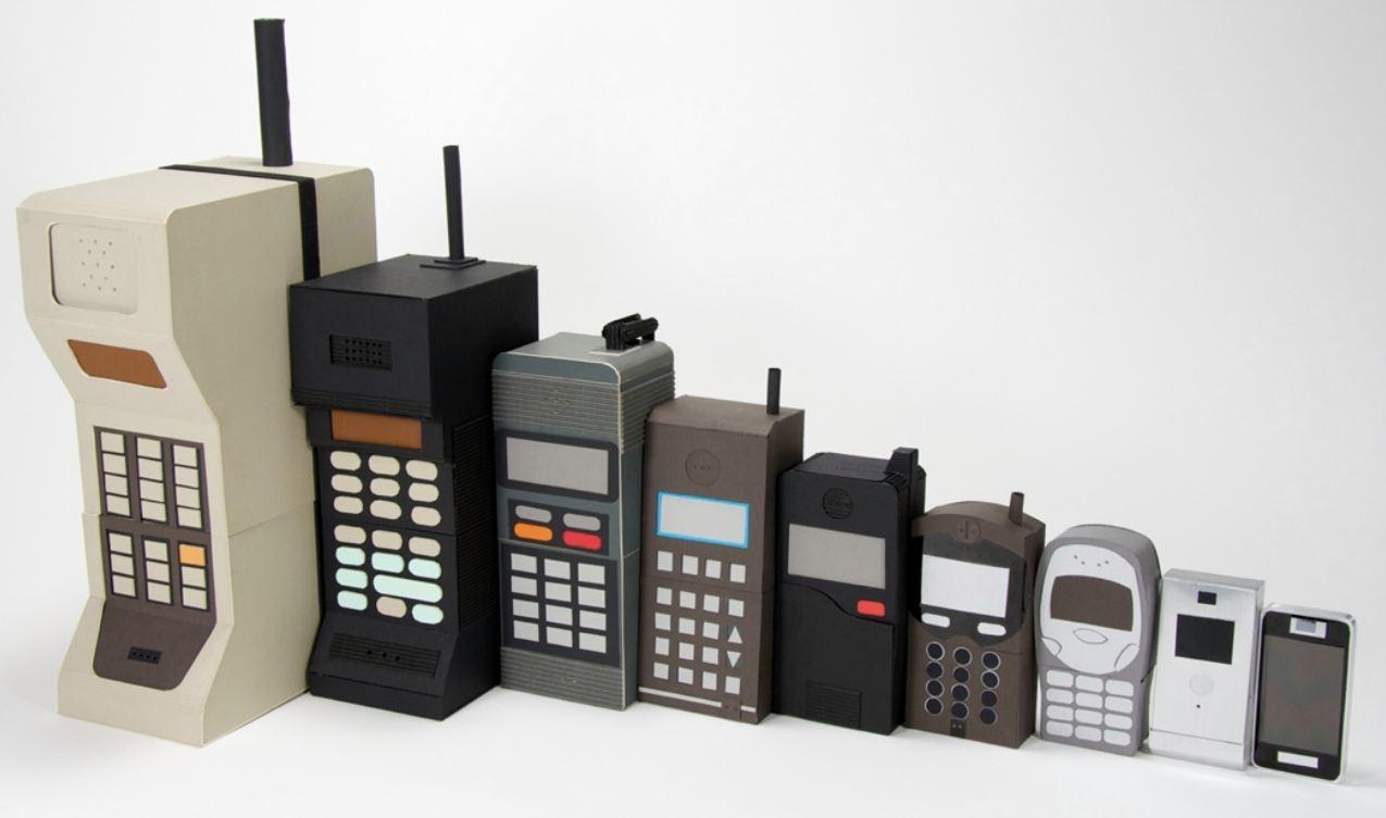 Evolution of Mobile Phone