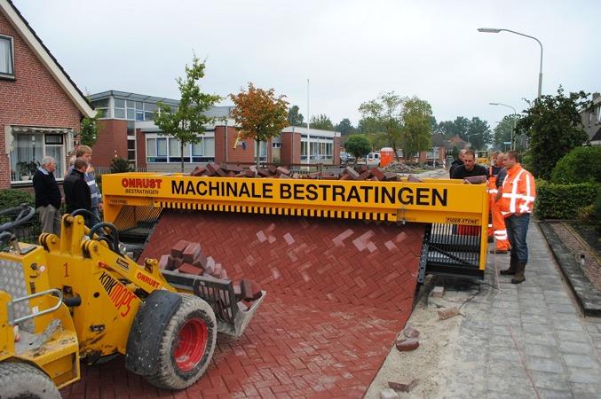 Brick Road Laying Machine
