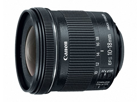 Canon 10-18mm F5.6 IS TSM Lens