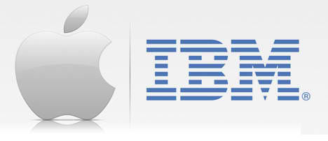 Apple IBM Logo