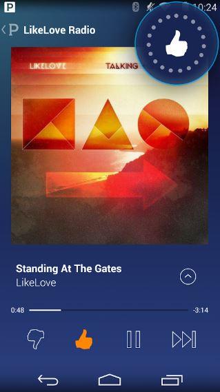LikeLove Radio App
