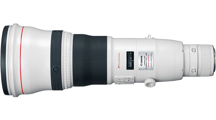 Canon 800mm lens
