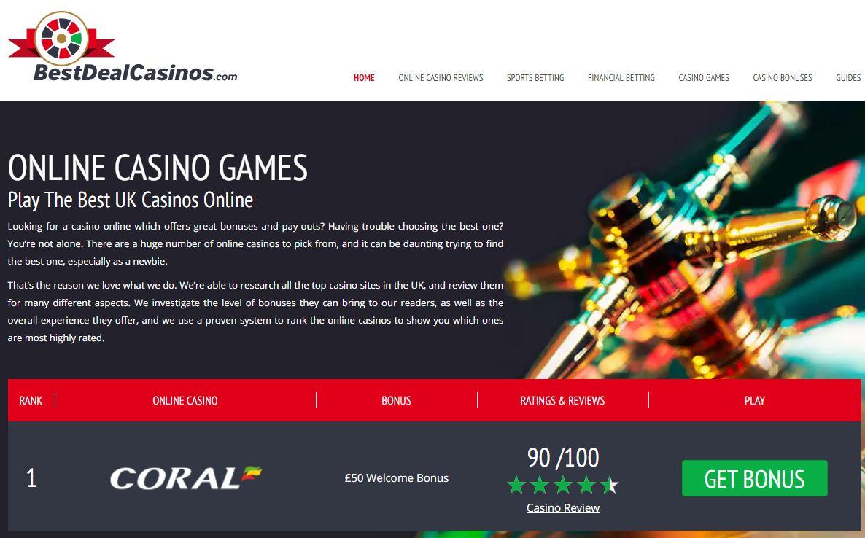 Best Deal Casinos