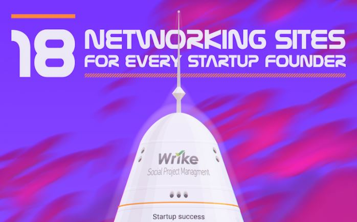 Social networking for startup founder